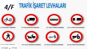 Trafik Levhasi Boyama